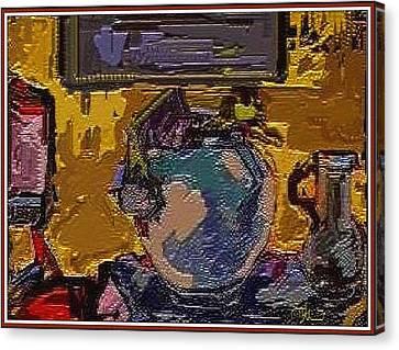 Interior Canvas Print by Pemaro
