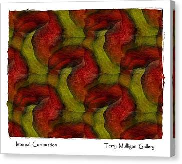 Internal Combustion Canvas Print by Terry Mulligan