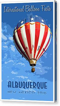International Balloon Fiesta Canvas Print