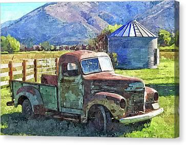 International Farm Dop Canvas Print