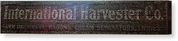 International Harvester Co. Canvas Print by Jame Hayes