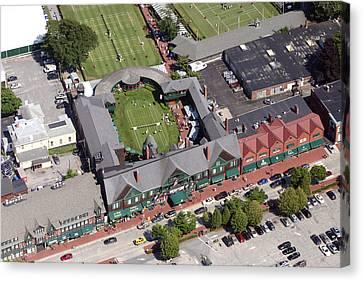 International Tennis Hall Of Fame 194 Bellevue Avenue Newport Ri 02840 3586 Canvas Print by Duncan Pearson