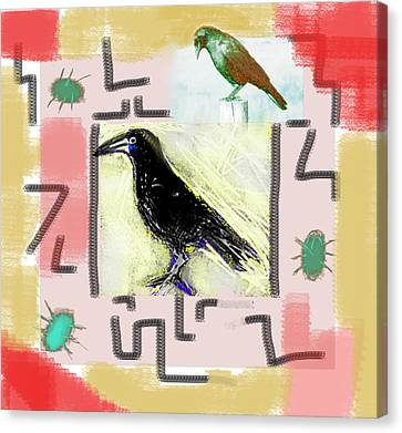 Interpretation Of The Dream  Canvas Print by Paul Sutcliffe