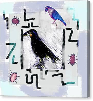 Interpretation Of The Dreamers Canvas Print by Paul Sutcliffe