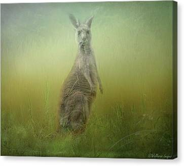 Interrupted Meal Canvas Print