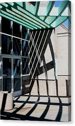 Intersections Canvas Print by David S Reynolds