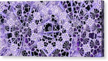Canvas Print featuring the digital art Interwoven by Ron Bissett