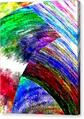 Interwoven Canvas Print by Will Borden