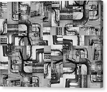 Intestins Canvas Print by Gabriela Insuratelu