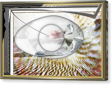 ' In The Blink Of A Eye ' Canvas Print