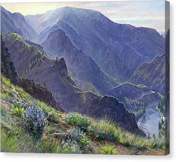 Intimate Grandeur Canvas Print