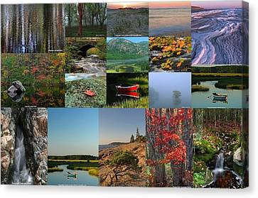 Intimate New England Landscape Photography Canvas Print by Juergen Roth