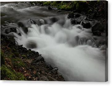 Into A Flowing Of Solace Canvas Print by Jeff Swan