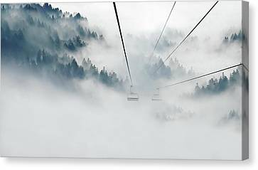 Canvas Print - Into The Abyss by Andrea Kollo