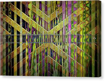 Into The Centre Of Yourself Canvas Print by Nicole Frischlich