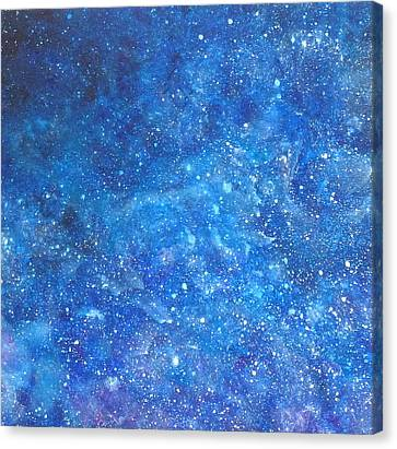 Into The Deep # 1 Canvas Print by Adrienne Martino