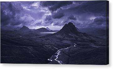 Into The Highlands Canvas Print by Tor-Ivar Naess