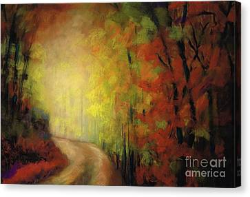 Into The Light Canvas Print by Frances Marino