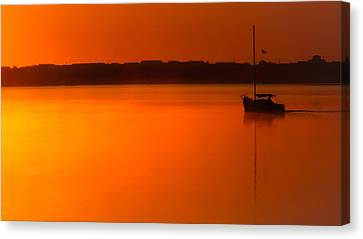 Into The Light Canvas Print by Karen Wiles