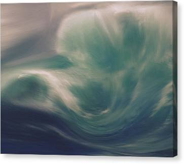 Into The Storm Canvas Print by Dan Sproul