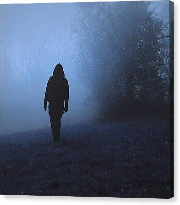 Into The Unknown Canvas Print by Art of Invi