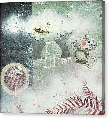 Into The Unknown Canvas Print by Konrad Geel