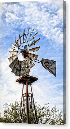 Into The Wind Canvas Print by Beauty For God