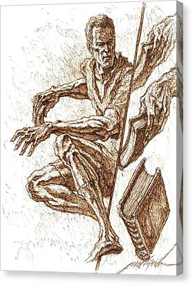Into Thine Hand Canvas Print