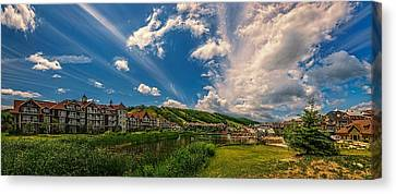 Intrawest Four Season Resort Canvas Print