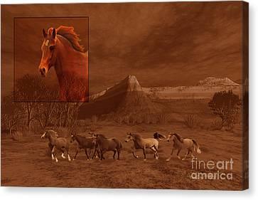 Stone Pony Canvas Print - Intrepid Spirit by Corey Ford