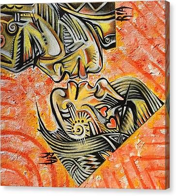 Canvas Print - Intricate Intimacy by RiA RiA