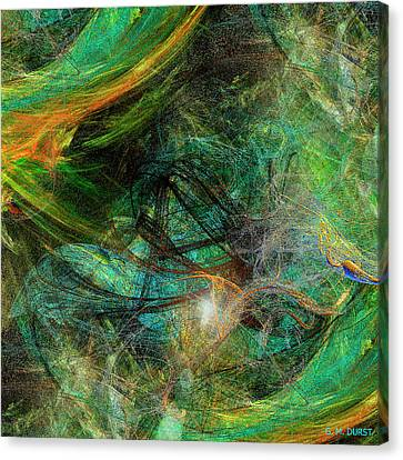 Intricate Love Canvas Print by Michael Durst