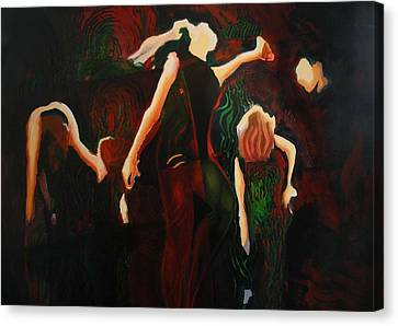 Intricate Moves Canvas Print by Georg Douglas
