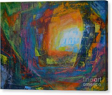 Intuition #2# Canvas Print by Adel Nemeth