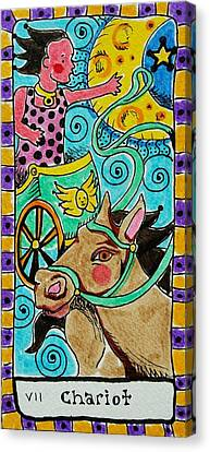 Intuitive Catalyst Card - Chariot Canvas Print by Corey Habbas