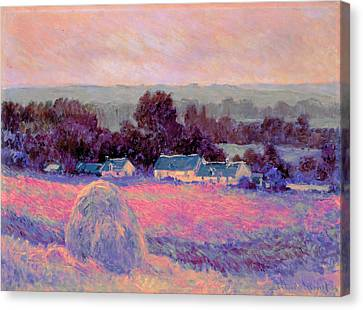 Inv Blend 10 Monet Canvas Print by David Bridburg