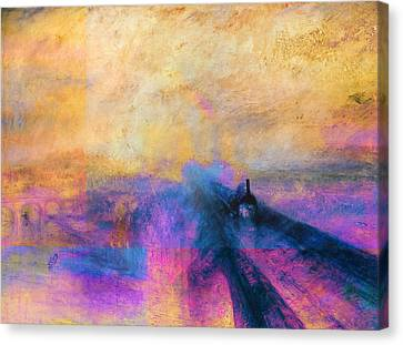 Inv Blend 12 Turner Canvas Print