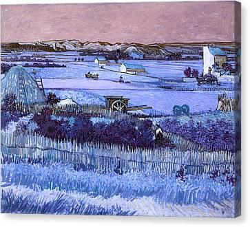 Inv Blend 18 Van Gogh Canvas Print