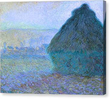 The Horse Canvas Print - Inv Blend 21 Monet by David Bridburg