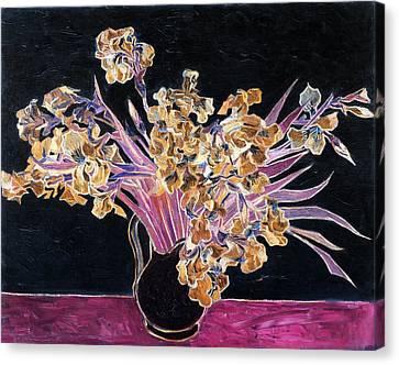 Inv Blend 3 Van Gogh Canvas Print