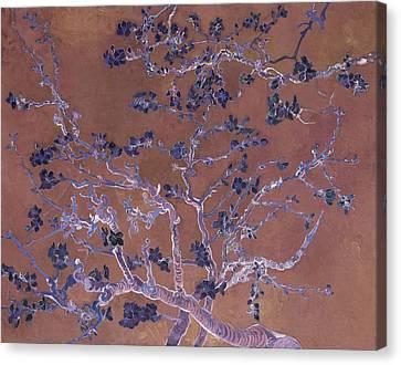 Inv Blend I Van Gogh Canvas Print