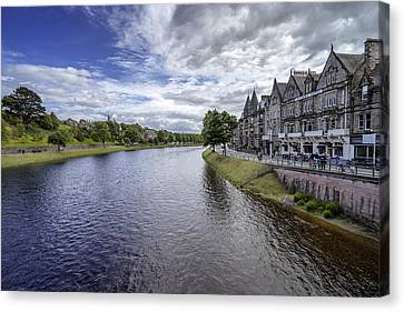 Canvas Print featuring the photograph Inverness by Jeremy Lavender Photography