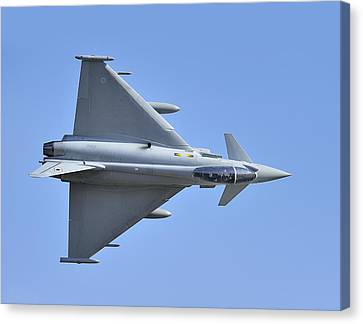 Inverted Typhoon In The Welsh Hills Canvas Print by Barry Culling