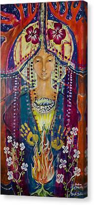 Invoking Shekinah Canvas Print by Shiloh Sophia McCloud