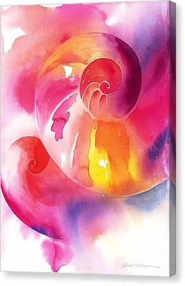 Inward Journey Canvas Print by Tara Moorman