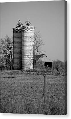 Iowa Towers 1 Canvas Print by Jame Hayes