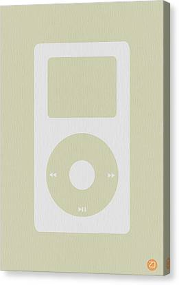Ipad Poster Kids Art Canvas Print - iPod by Naxart Studio