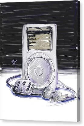iPod Canvas Print