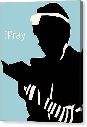 Ipray Canvas Print by Anshie Kagan