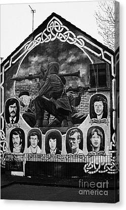 Ira Wall Mural Belfast Canvas Print by Joe Fox